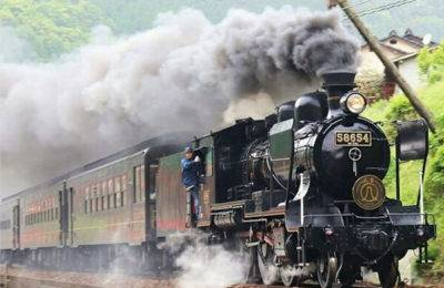 SL Hitoyoshi Steam Train