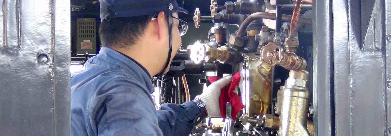 SL Hitoyoshi steam train