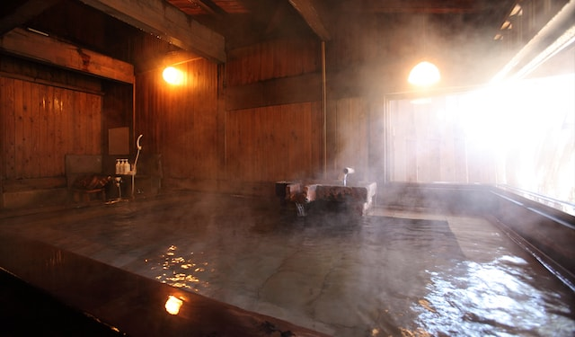 Steamy bath
