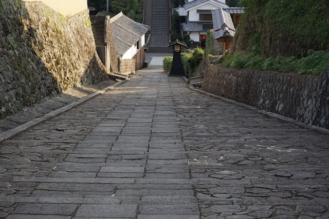 Old samurai lane