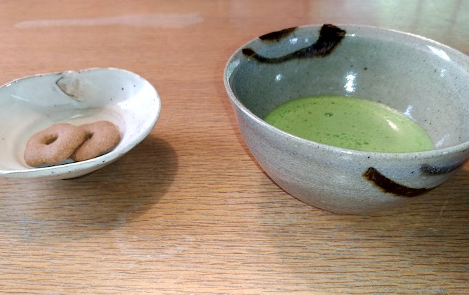 matcha-and-snack