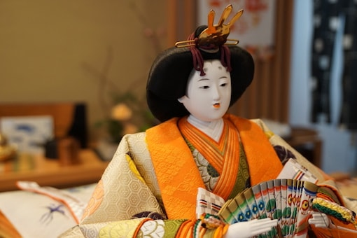 Hina doll in Ureshino