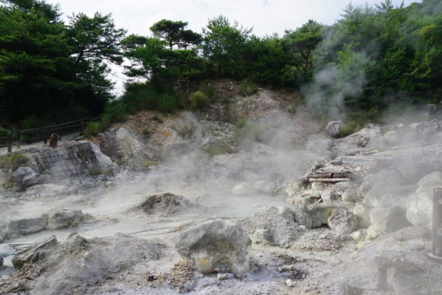 Day 4: The boiling, bubbling Unzen Hells