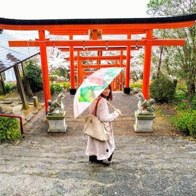 Sakura Japanese lady