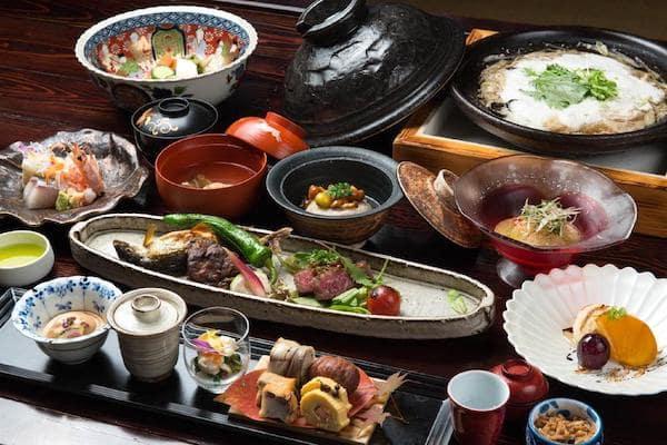 Japanese Inn Food